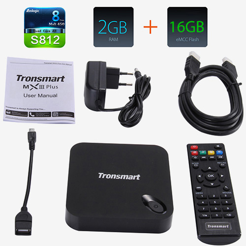 TV BOX Tronsmart MXIII_PLUS описание
