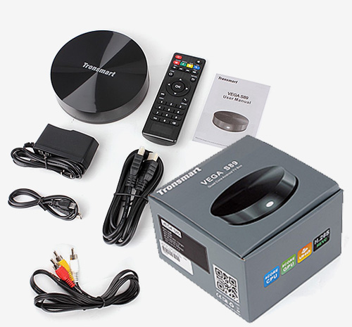 TV BOX Tronsamrt Vega S89 описание