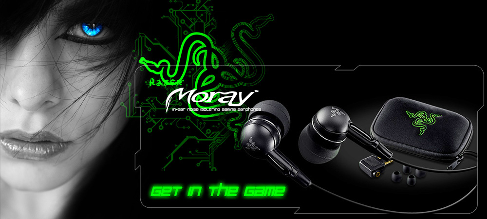 Слушалки Razer Moray